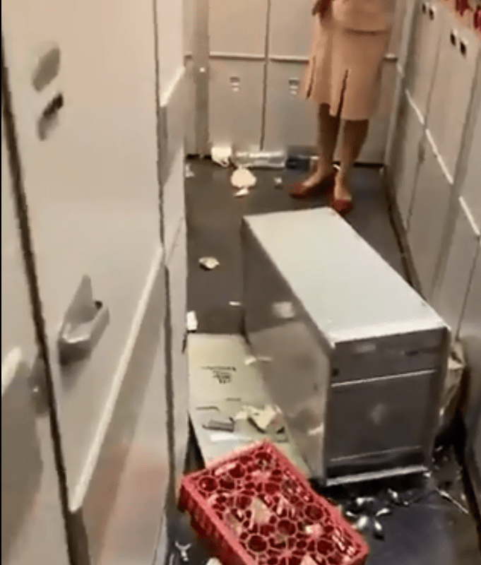 Emirates flight hit severe turbulence leading to injuries