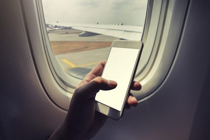 Can cell phones pose a crash threat to planes?