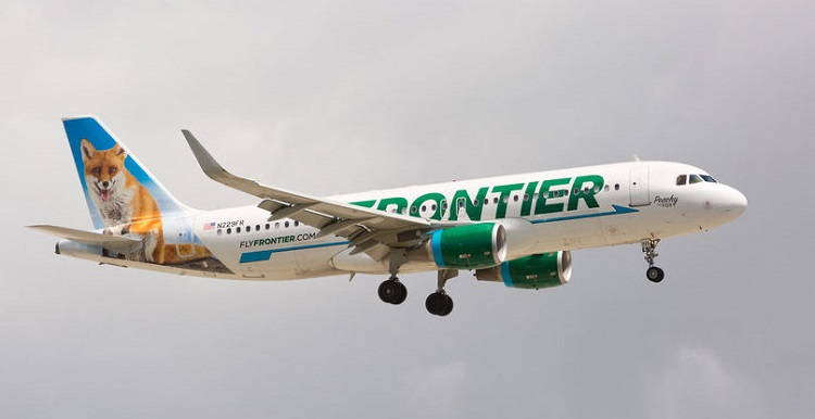 Frontier Airlines offers free flights