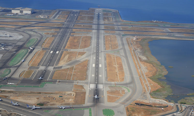 Due to SFO runway closure alternative ways offered by United