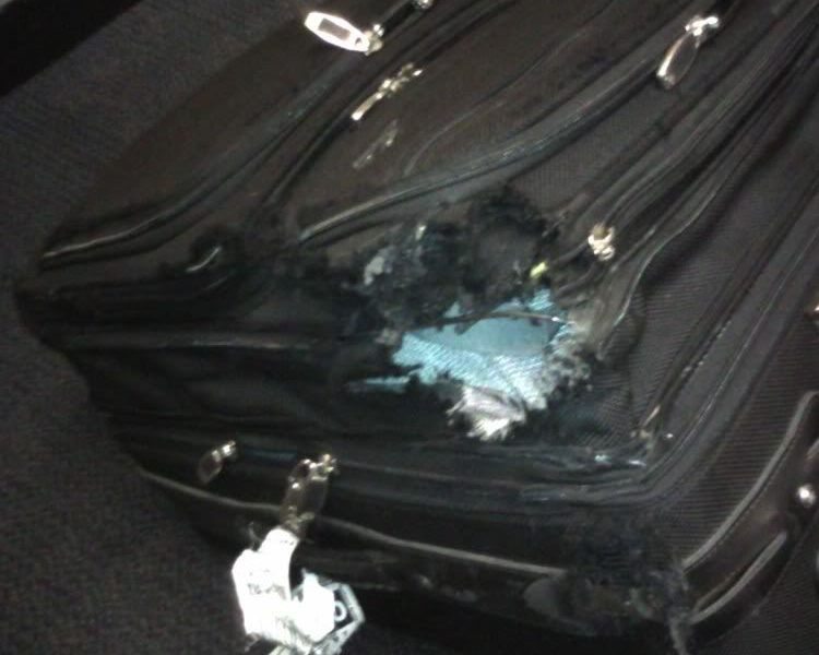What to do if your luggage is damaged