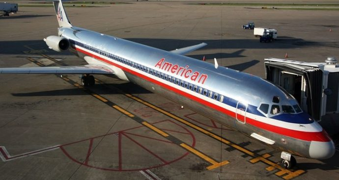 The end of MD-80s era in American Airlines fleet