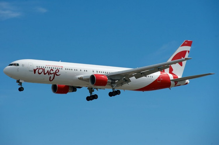 Fruit smell forces Air Canada Rouge Flight to divert