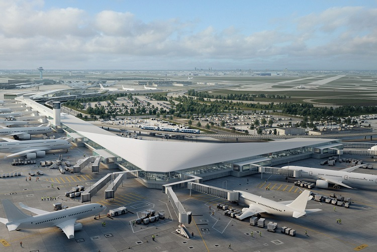 Chicago Airport's $300 million runway expansion