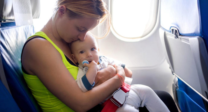 Flying with kids – what if you're sick?